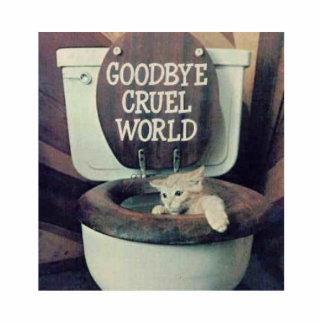"""""""Adiós mundo cruel """" Escultura Fotografica"""
