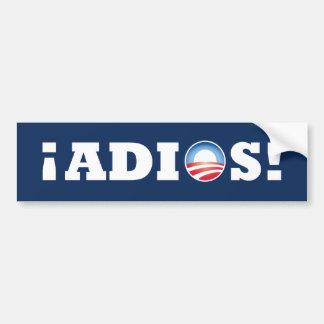 ¡Adios Obama! Bumper Sticker