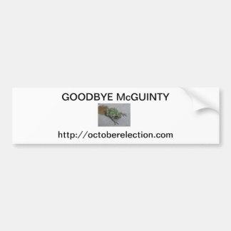 Adiós parachoque de McGuinty al parachoque Pegatina Para Auto