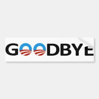 Adiós pegatina para el parachoques de Obama Pegatina Para Auto