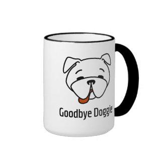 Adiós perrito taza de dos colores