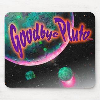 Adiós Plutón en flor Alfombrilla De Ratón