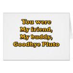 Adiós Plutón Felicitaciones