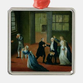 Adiós que hace una oferta de Louis XVI a su famili Adorno De Navidad