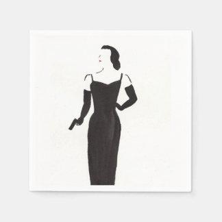 Adiós servilleta Noir del cóctel de la película Servilletas De Papel