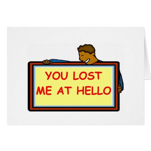 adiós tarjeta