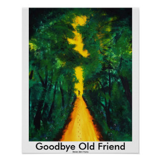 Adiós viejo amigo póster