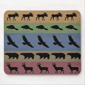 Adirondack Animals Mouse Pad