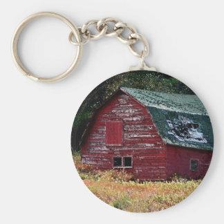 Adirondack barn key chain