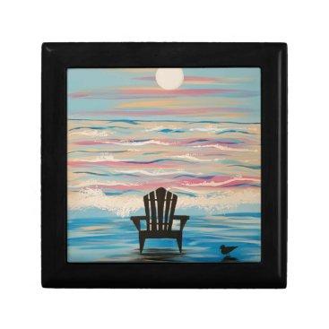 Beach Themed Adirondack Beach Chair Gift Box