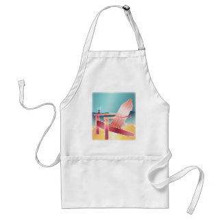 Adirondack Beach Chair Relaxing Adult Apron