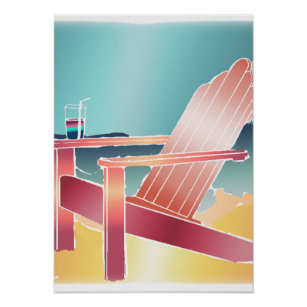 https://rlv.zcache.com/adirondack_beach_chair_relaxing_poster-r8237206c316c45118da4da9958238687_zeq_8byvr_307.jpg