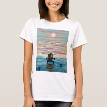 Beach Themed Adirondack Beach Chair T-Shirt