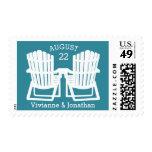 Adirondack Beach Chairs Postage