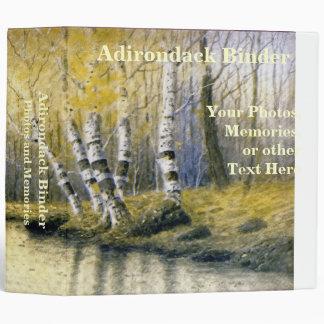 Adirondack Birch Trees with Yellow Leaves Binder