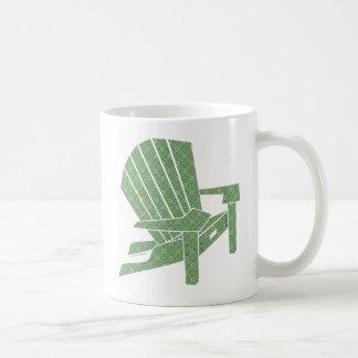 Adirondack Chair Classic White Coffee Mug