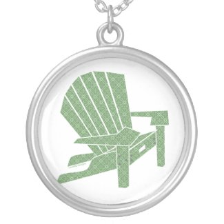 Adirondack Chair Necklace necklace