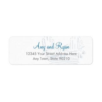 Adirondack Chair Return Address Label