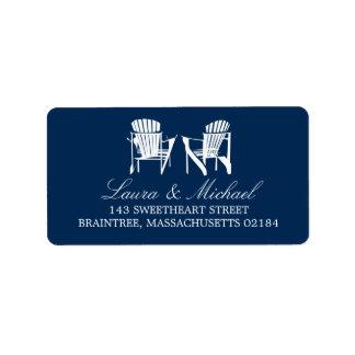 Adirondack Chairs | Address Address Label