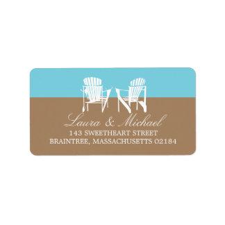 Adirondack Chairs | Address Label
