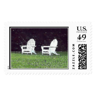 Adirondack Chairs, Cape Cod Stamps