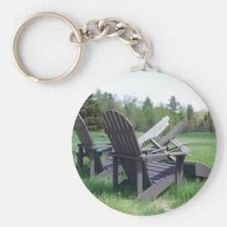 Adirondack Chairs Keychain
