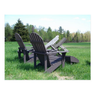 Adirondack Chairs Post Cards