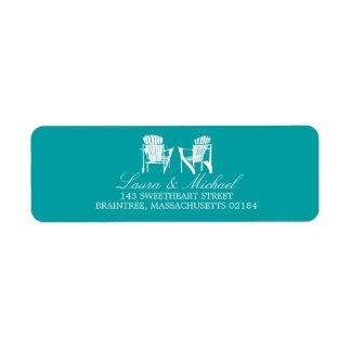 Adirondack Chairs | Return Address Custom Return Address Label