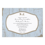 Adirondack Chairs Rustic Wedding 5x7 Paper Invitation Card