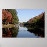 Adirondack Fall Foliage Poster