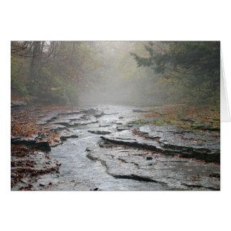 Adirondack Falls Card