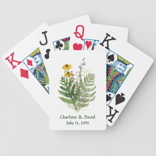 Adirondack Floral Playing Cards
