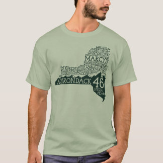 Adirondack High Peaks T-Shirt (Green Logo)