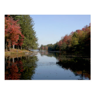 Adirondack Lake Post Card