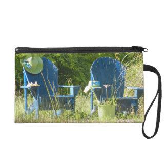 Adirondack Lawn Chairs Wristlet Clutch