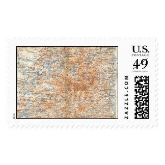 Adirondack Map Stamp