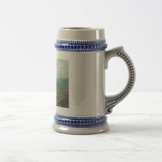Adirondack Mountain Peaks Panorama Coffee Mug
