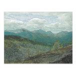 Adirondack Mountain Peaks Panorama Postcard