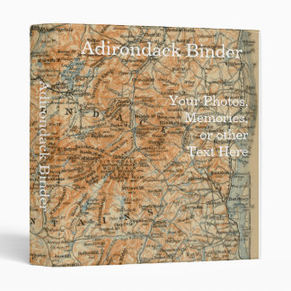 Adirondack Mountains and Park Map Binder