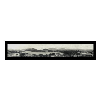 Adirondack Mountains & Lake Placid 1912 Posters