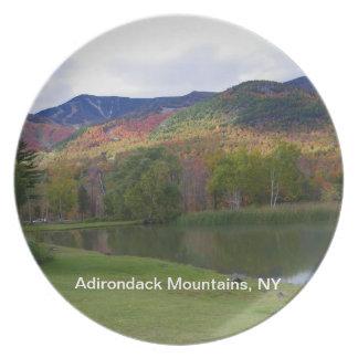 Adirondack Mountains Photo Plate