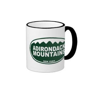 Adirondack Mountains Ringer Mug