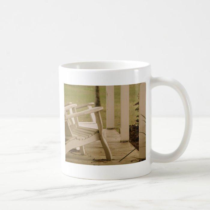 Adirondack Porch Coffee Mug