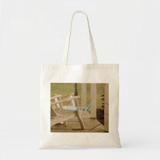 Adirondack Porch Tote Bag