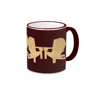 Adirondack preside la taza