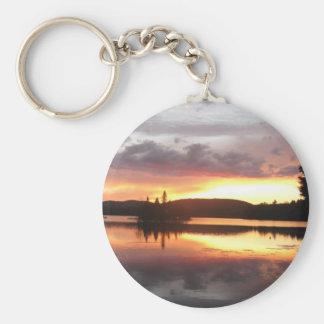 Adirondack Sunset Keychain
