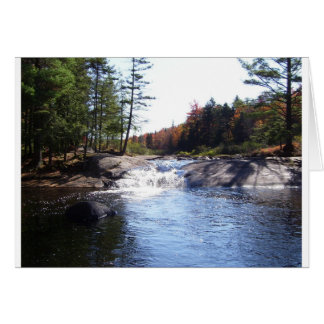 Adirondack Upstate New York Card