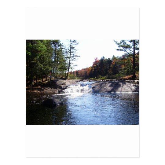 Adirondack Upstate New York Postcard