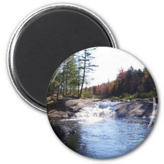 Adirondack Upstate Nueva York Imán Redondo 5 Cm