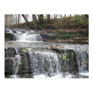 Adirondack Waterfall Postcard